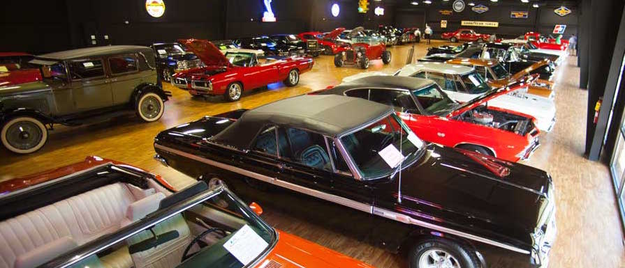 Memory Lane showroom