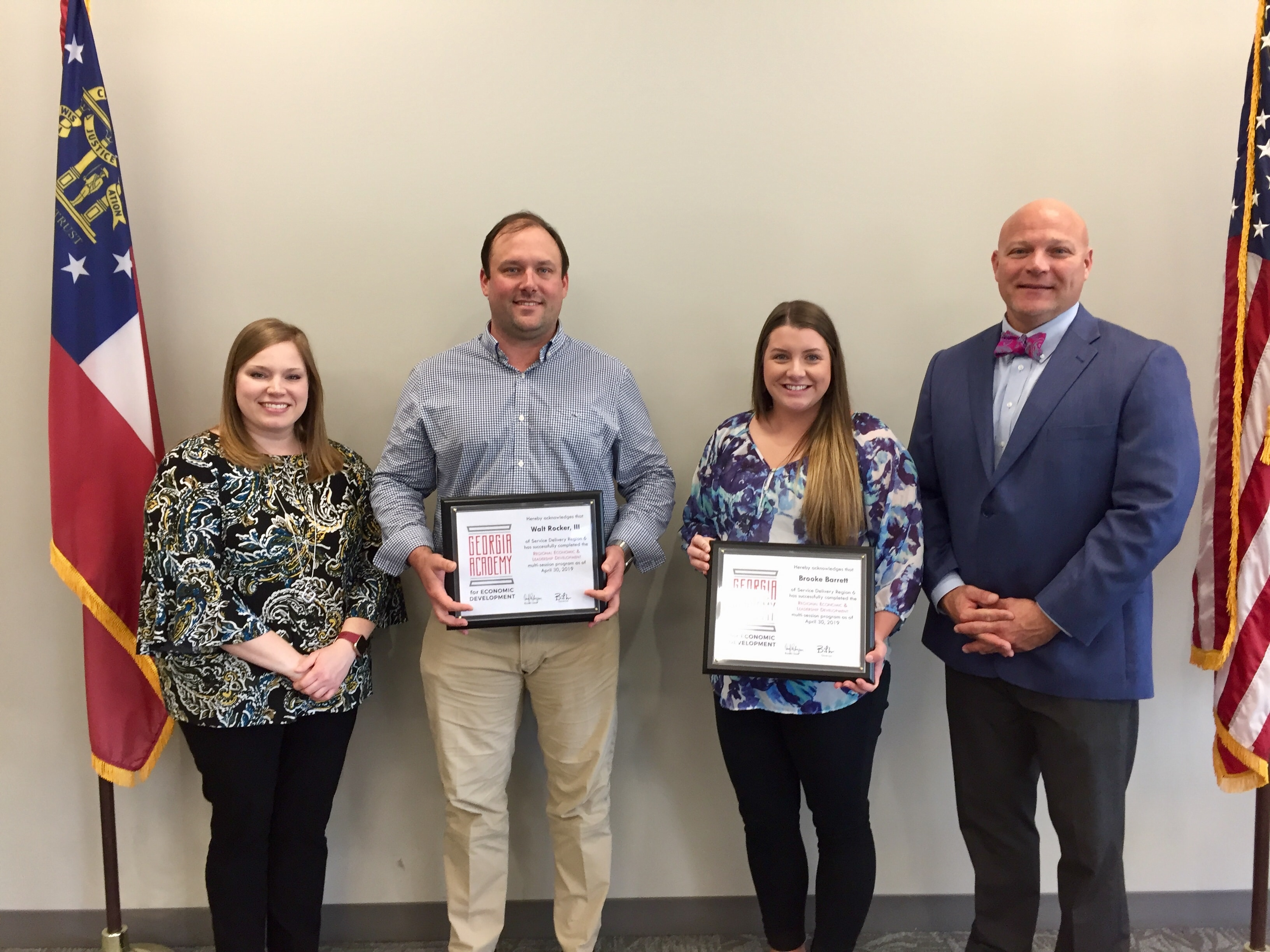 COUNTY LEADERS GRADUATE FROM THE GEORGIA ACADEMY FOR